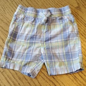 2T boys plaid shorts First Impressions